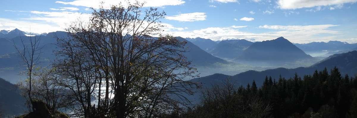 Berg-Tal-Panorama